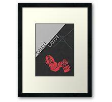 Perceptor MTMTE Retro Character Poster Framed Print