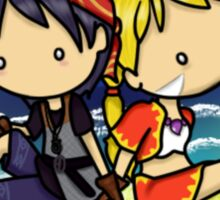 Kid and Serge Sticker