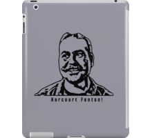 Harcourt Fenton Mudd, AKA Harry Mudd (Black) iPad Case/Skin