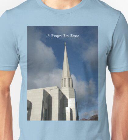 A Prayer For Peace Unisex T-Shirt