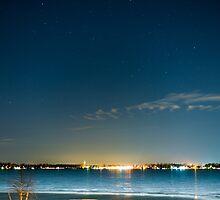 Walled lake night by Scott Ferguson