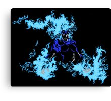 Blue Chandra Magic Canvas Print