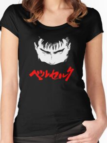 Berserk - Guts Women's Fitted Scoop T-Shirt