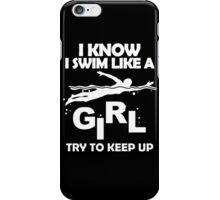 Swim Shirt For Men and Women. iPhone Case/Skin