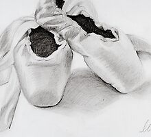 Pointe Shoes by glhardesty