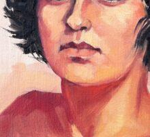 Portrait of Elisa Sticker