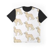 golden retriever pixel Graphic T-Shirt