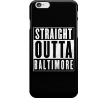 The wire - Baltimore iPhone Case/Skin