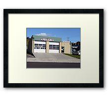 Fire station, Penguin, Tasmania Framed Print