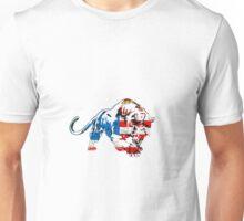 American Flag Tiger Unisex T-Shirt