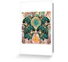 rococo rose queens Greeting Card