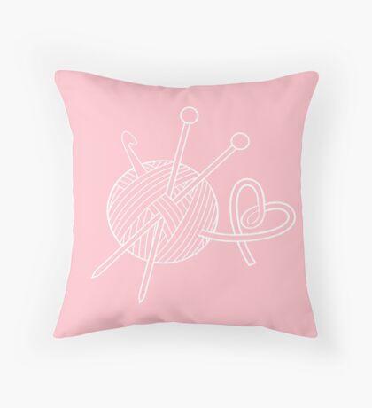 Yarn Love Throw Pillow