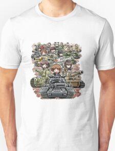Girls und Panzer Crew Unisex T-Shirt