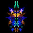 Neon Rorschach III by James McKenzie