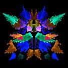 Neon Rorschach I by James McKenzie