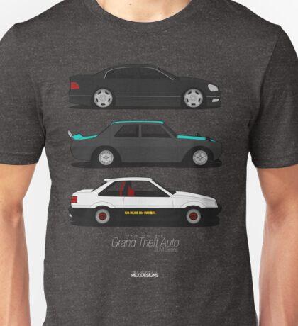 Grand Theft Auto JDM Series Unisex T-Shirt