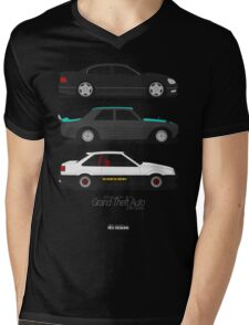 Grand Theft Auto JDM Series Mens V-Neck T-Shirt