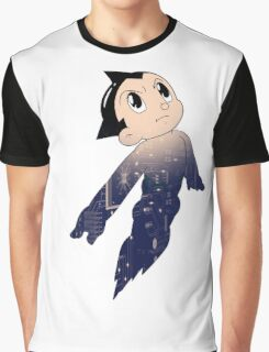 Astro Boy - Human Machine Graphic T-Shirt