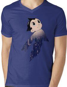 Astro Boy - Human Machine Mens V-Neck T-Shirt