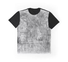The Atlas Of Dreams - Color Plate 36 b&w version Graphic T-Shirt