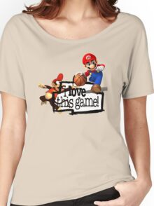Mario Diddy Kong Women's Relaxed Fit T-Shirt