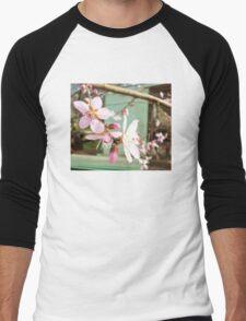 Nectarine blossoms Men's Baseball ¾ T-Shirt