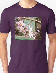 Nectarine blossoms Unisex T-Shirt
