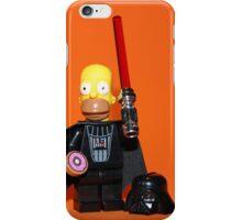 Homer Simpson Darth Vader iPhone Case/Skin