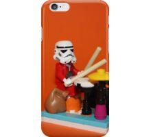 Stormtrooper plays drum iPhone Case/Skin