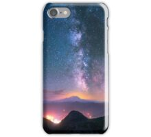 Beautiful Light Pollution iPhone Case/Skin