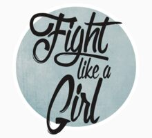fight like a girl Baby Tee