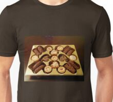 The Swiss Collection - Mini Chocolate Biscuits Unisex T-Shirt