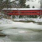 Swift River Covered Bridge by TonyCrehan