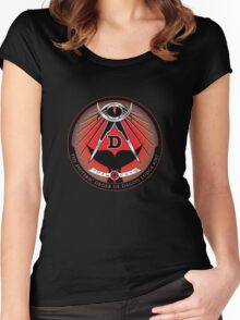 Esoteric Order of Dagon Lodge Women's Fitted Scoop T-Shirt