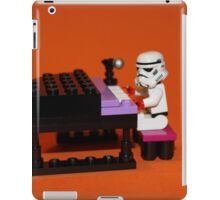 Stormtrooper plays piano iPad Case/Skin