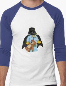 Sleepy Darth Vader Men's Baseball ¾ T-Shirt