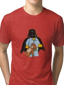 Sleepy Darth Vader Tri-blend T-Shirt