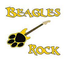 Beagles Rock Photographic Print