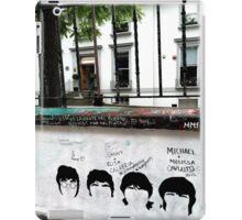 Fab Four Graffiti at Abbey Road Studios iPad Case/Skin