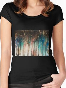 Abstract.21 Women's Fitted Scoop T-Shirt