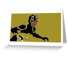 Bumblebee Minimalism Greeting Card