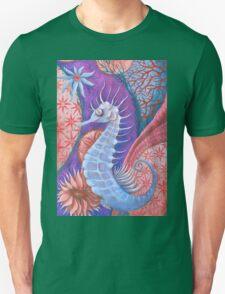 The wondering seahorse  Unisex T-Shirt