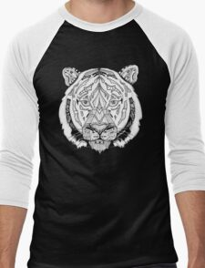 Coota-Art Tiger Men's Baseball ¾ T-Shirt