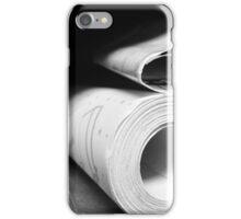 Blue Prints iPhone Case/Skin