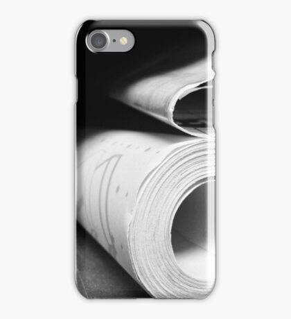 Blue Prints iPhone Case/Skin