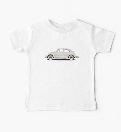 1961 Volkswagen Beetle Sedan - Pearl White Baby Tee