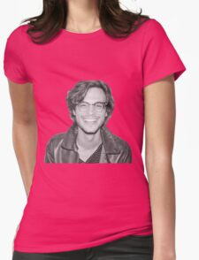 Matthew Gray Gubler Womens Fitted T-Shirt