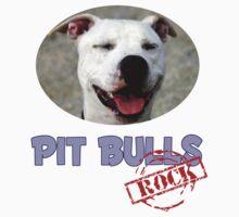 Pit Bulls Rock One Piece - Short Sleeve