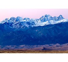 Sangre de Christo and The Great Sand Dunes National Park Photographic Print