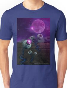 Pineal Fields: Farming the Third Eye Unisex T-Shirt